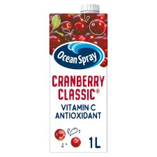 Ocean Spray Cranberry Classic Juice Drink 1 Litre