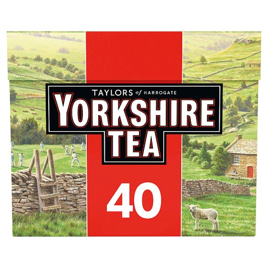 Yorkshire Teabags 40S 125G