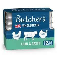 Butchers Lean And Tasty 12X150g Foiltray