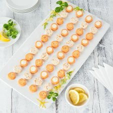 Tesco Easy Entertaining 48 Smoked Salmon Appetisers 400G