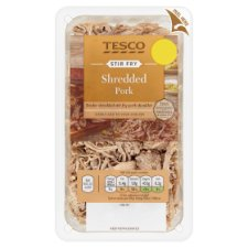 Tesco Stir Fry Shredded Pork 145G
