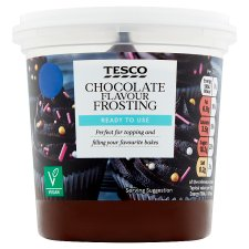 Tesco Chocolate Frosting 400G