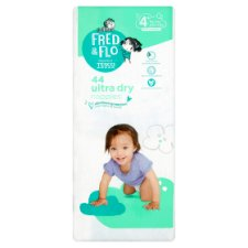 Fred And Flo 44 Ultradry Nappies Size 4+