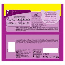 image 3 of Whiskas 7+ Cat Pouches Poultry In Jelly 4X100g