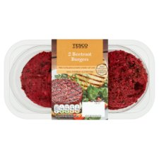Tesco Beetroot Burgers 225G
