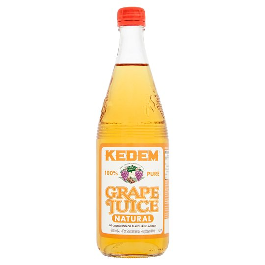 Kedem Natural Grape Juice 650Ml