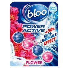 Bloo Poweractive Flowers Toilet Rim Block 50G