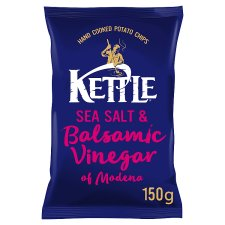 Kettle Chips Sea Salt & Balsamic Vinegar Crisps 150 G