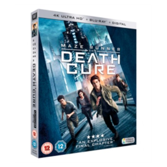 Maze Runner , The Death Cure Bd And Uhd Blu-Ray