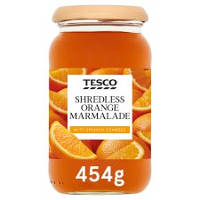 Tesco Shredless Orange Marmalade 454G