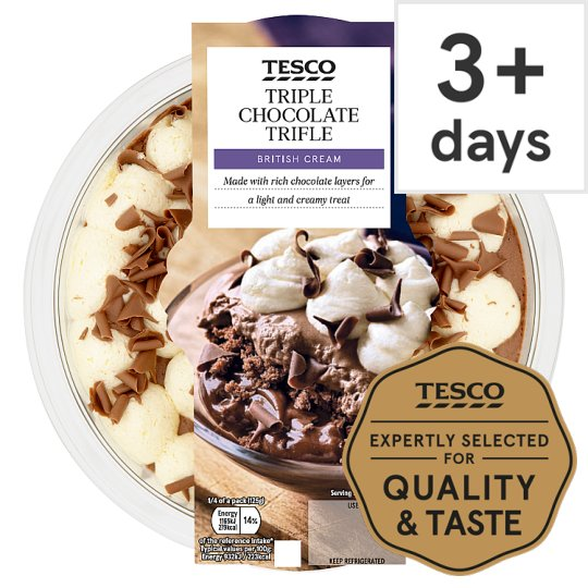 Tesco Trifle Chocolate 500G