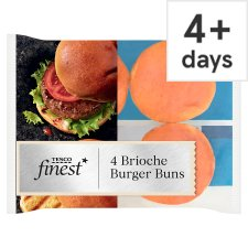 Tesco Finest 4 Brioche Burger Buns