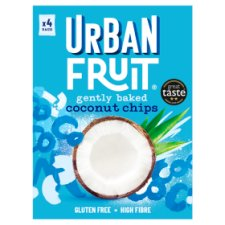 Urban Fruit Coconut Chips Up 4 Pack 72G