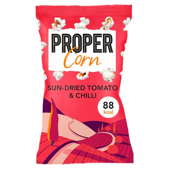Propercorn Fiery Worcester Sauce And Sun Dried Tomato 20G