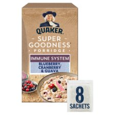 Quaker Blueberry Cranberry And Guava Porridge 8X35g
