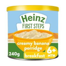 Heinz Sunrise Banana Porridge 240G