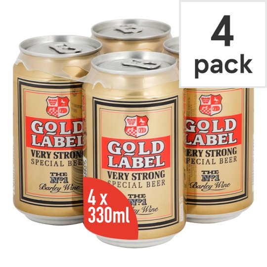 Gold Label Barley Wine 4 X 330Ml