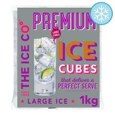 The Ice Co. Premium Ice Cubes 1Kg