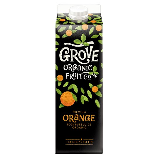 Grove Fresh Pure Organic Orange Juice 1 Litre