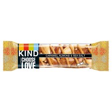 Kind Caramel Almond And Sea Salt 40G