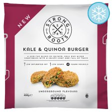 Strong Roots Kale And Quinoa Burgers 450G