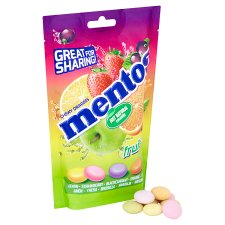 image 2 of Mentos Fruit Mix Pouch 160G