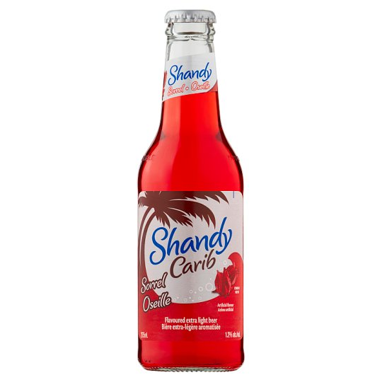 Shandy Carib Sorrel 275Ml