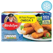 Birds Eye Fish Fingers Omega3 18 Pack 504G
