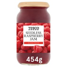 Tesco Seedless Raspberry Jam 454G