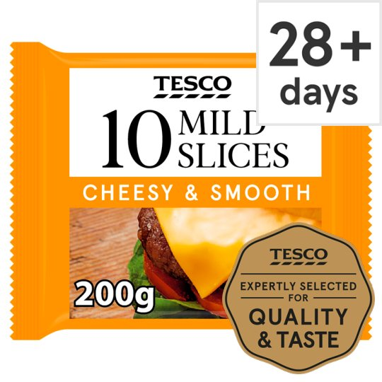 Tesco 10 Slices 200G
