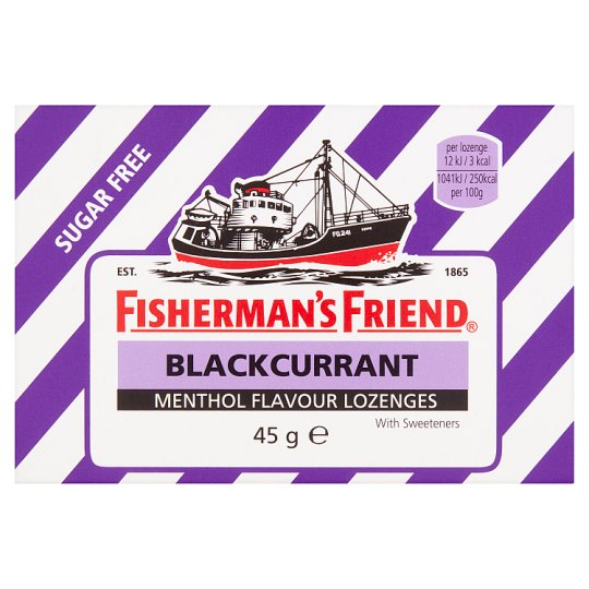 Fisherman's Friend Blackcurrant 45G