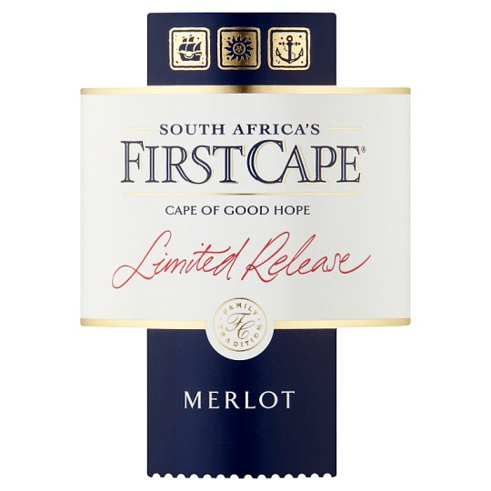 First Cape Limited Release Merlot 75Cl