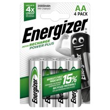 Energizer Power Plus Aa 4 Pack 2000 Mah