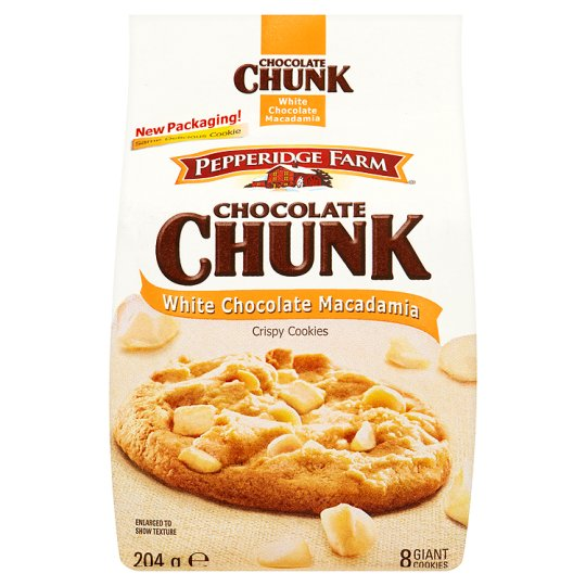 Pepperidge Farm White Chocolate Macadamia Cookies 204G