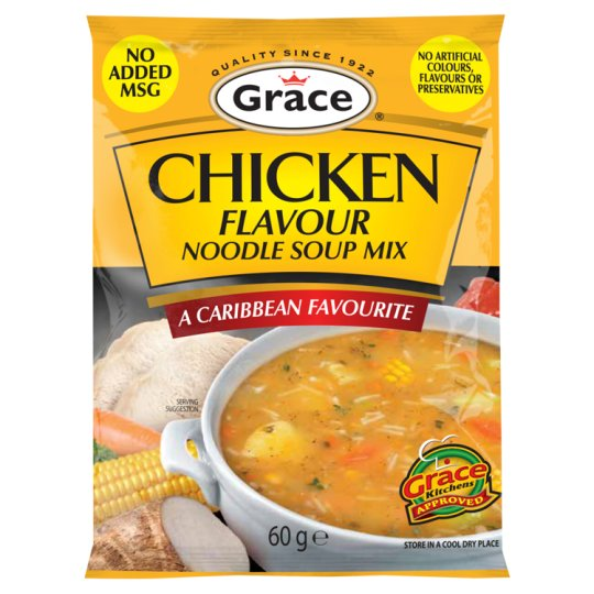 Grace Chicken Flavour Noodle Soup Mix 60G