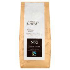 Tesco Finest Kenyan Fair Trade Ground Coffee 227G