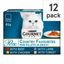 Gourmet Perle Country Favourites12x85g