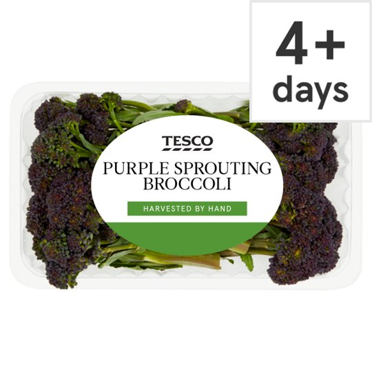 image 1 of Tesco Purple Sprouting Broccoli 200G