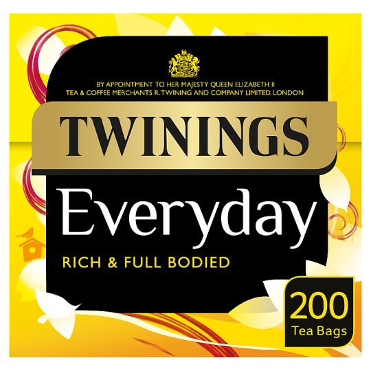 Twinings Everyday 200 Tea Bags 580G