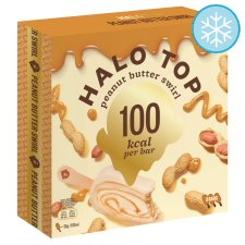 Halo Top Peanut Butter Swirl Sticks 3 X 100Ml