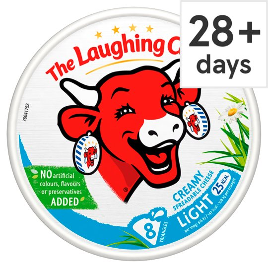 The Laughing Cow Light Cheese Triangles 140 G