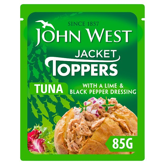 John West Tuna With A Twist Lime And Black Pepper 85G