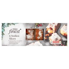 Tesco Finest Stollen Slices 6 Pack