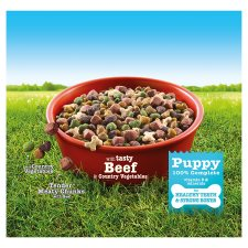 Bakers Complete Puppy Food Beef And Vegetable 1Kg