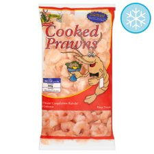 Mr Prawn Cooked And Peeled Prawns 100/150 350G