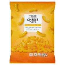 Tesco Cheese Puff Snacks 150 G