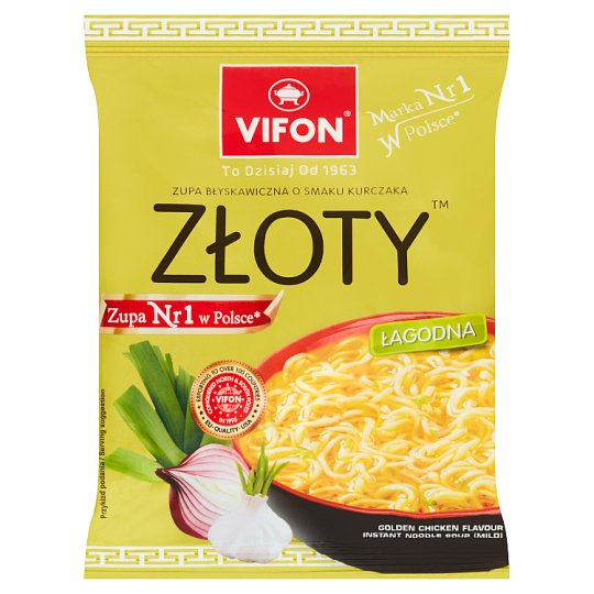 Vifon Golden Chicken Instant Noodles 70G