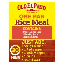 image 3 of Old El Paso Chilli And Garlic Rice Kit 355G