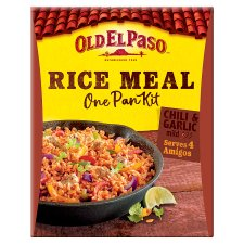 Old El Paso Chilli And Garlic Rice Kit 355G