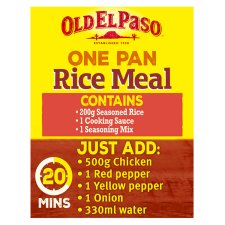 image 2 of Old El Paso Chilli And Garlic Rice Kit 355G